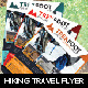Hiking Travel Flyer v2 - GraphicRiver Item for Sale