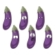Emotion Cartoon Eggplant Vegetables - GraphicRiver Item for Sale