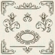 Page Decoration Vintage Frames. - GraphicRiver Item for Sale