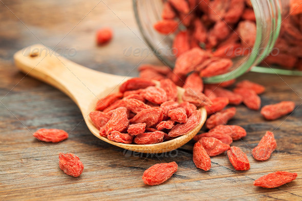 Tibetan goji berries - Stock Photo - Images