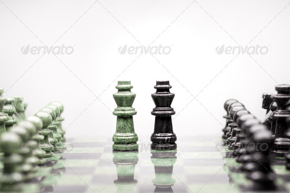 Kings summit talk. - Stock Photo - Images