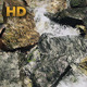 River And Large Rocks From Above - Looped - VideoHive Item for Sale