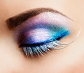 Eye Makeup. Beautiful Eyes Glitter Make-up - PhotoDune Item for Sale