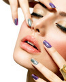 Fashion Beauty. Manicure and Make-up. Nail Art - PhotoDune Item for Sale