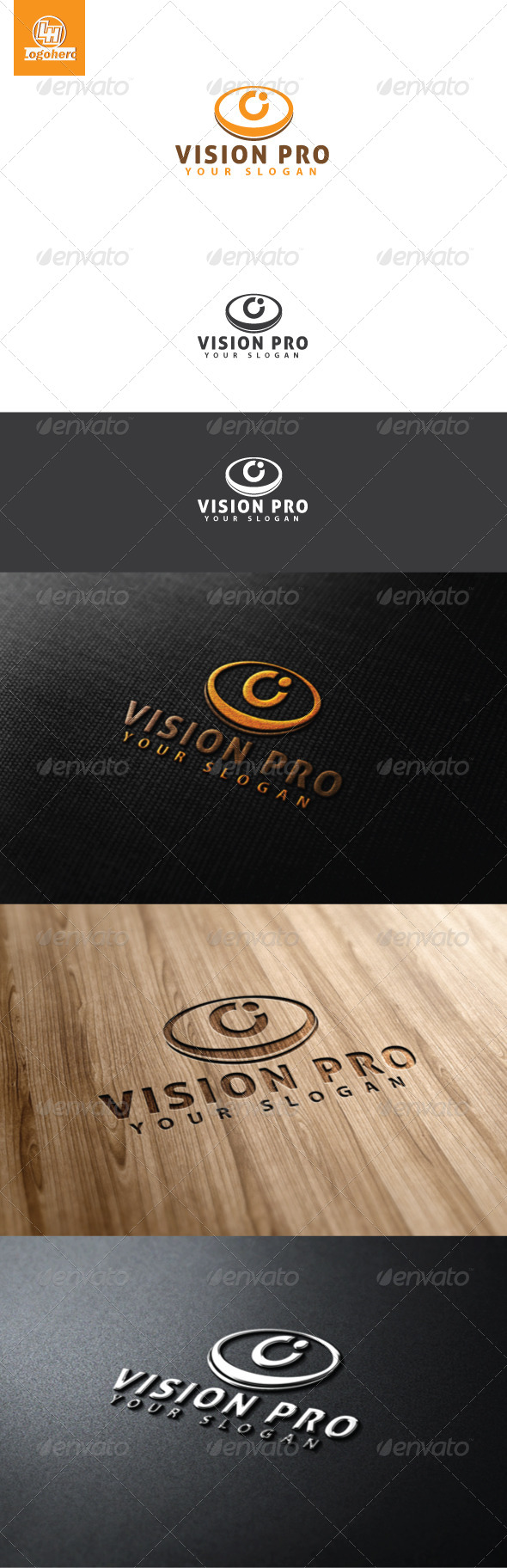 GraphicRiver Vision Pro Logo Template 4608311