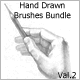 Hand Drawn Brushes Bundle Val.2 - GraphicRiver Item for Sale