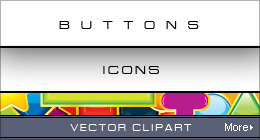 Web Buttons, Icons, Arrows