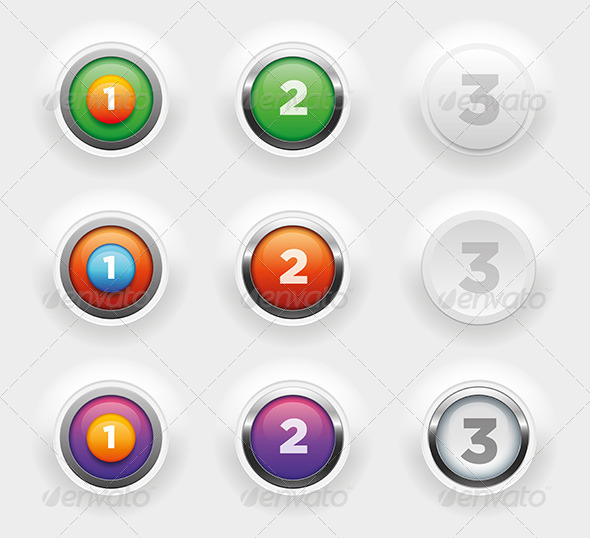 GraphicRiver Button Collection 4610808