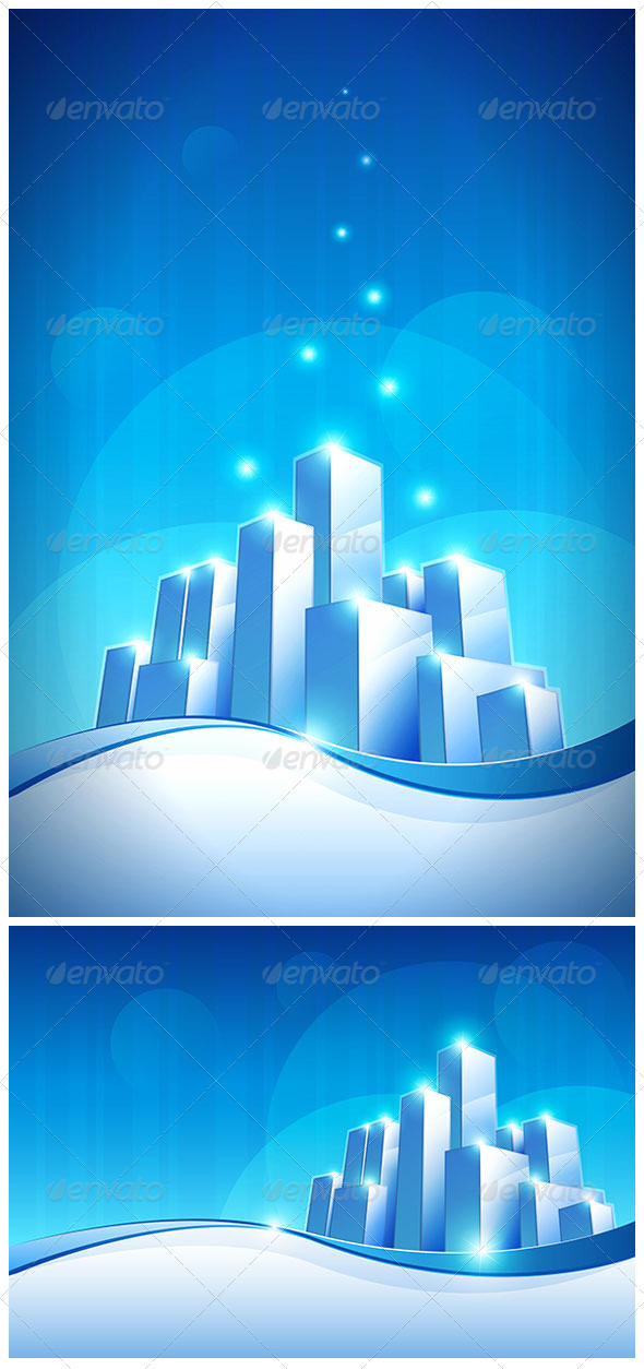GraphicRiver Future City 4610998