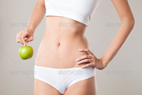 Perfect Slim Woman Body. Diet Concept - Stock Photo - Images