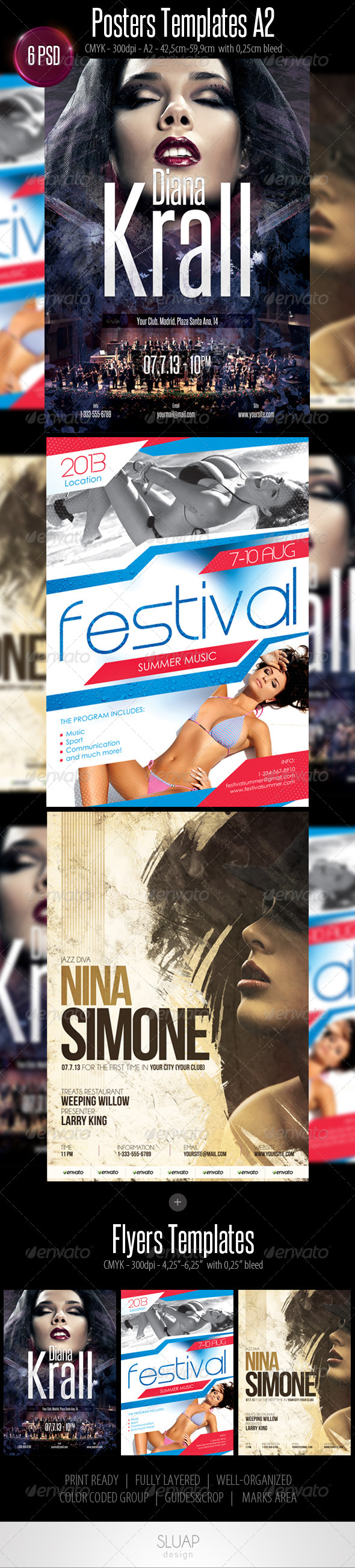 GraphicRiver Posters & Flyers Templates 4533912