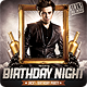 Birthday Night Flyer Template - GraphicRiver Item for Sale