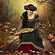 A Woman Reading a Book - GraphicRiver Item for Sale