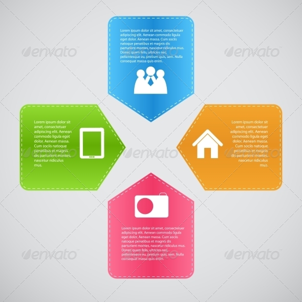 GraphicRiver Infographic Template Business Vector Illustration 4612202