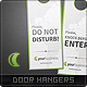 Luna Door Hangers - GraphicRiver Item for Sale