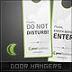 Luna Door Hangers - GraphicRiver Item for Sale