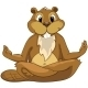 Cartoon Character Beaver - GraphicRiver Item for Sale
