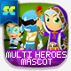 Multi Heroes Mascot Creation Kit - GraphicRiver Item for Sale