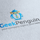 Geek Penguin Logo - GraphicRiver Item for Sale