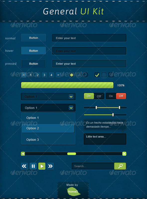 GraphicRiver General UI-Kit 4594233