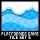 Platformer Game Tile Set 5 - GraphicRiver Item for Sale