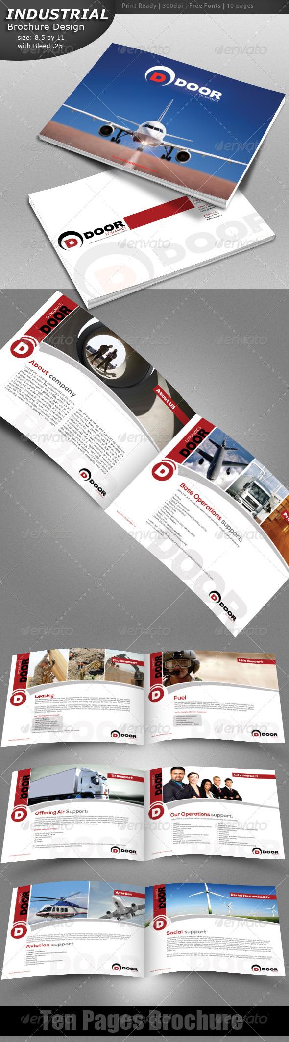 GraphicRiver Indestrial Brochure 4515194
