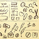 Doodles Set for Web Site Design - GraphicRiver Item for Sale