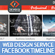 Web Design Service Facebook Timeline Cover - GraphicRiver Item for Sale