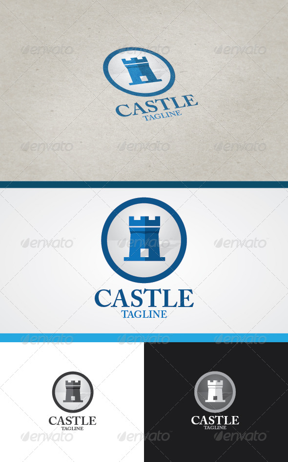 GraphicRiver Castle Logo 4599721