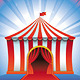 Vector Circus Tent - GraphicRiver Item for Sale