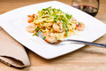 Fresh Pasta with large shrimp - PhotoDune Item for Sale