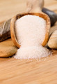 Coarse Salt in Wooden Spoon - PhotoDune Item for Sale
