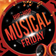 Hip Hop Musical Friday Flyer Template - GraphicRiver Item for Sale