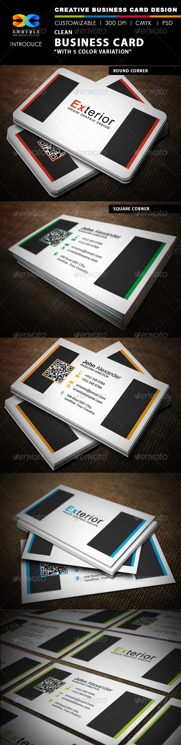 GraphicRiver Clean Business Card 4617273