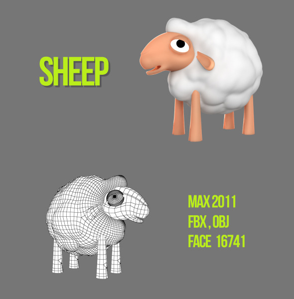 3DOcean Sheep 4617657