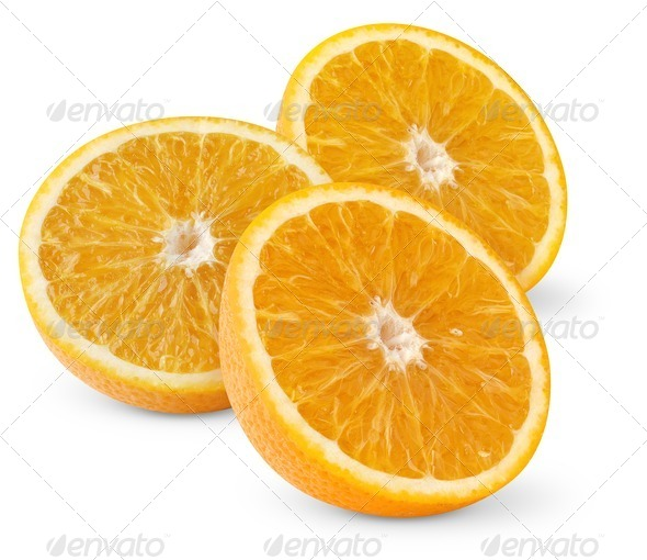 Beautiful oranges - Stock Photo - Images