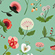 Set of Seamless Floral Patterns - GraphicRiver Item for Sale