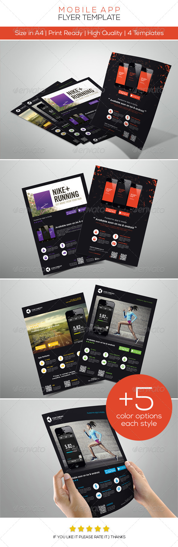 GraphicRiver Mobile App Promotion Flyers 4547515