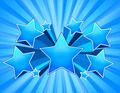 Blue Star Burst Background - PhotoDune Item for Sale