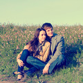 Outdoor Portrait of young couple - PhotoDune Item for Sale