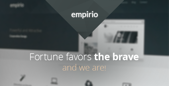 ThemeForest empirio Responsive HTML Template 4619569