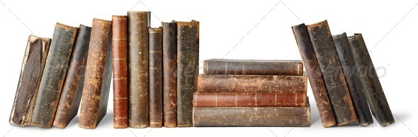 PhotoDune Old books 482859