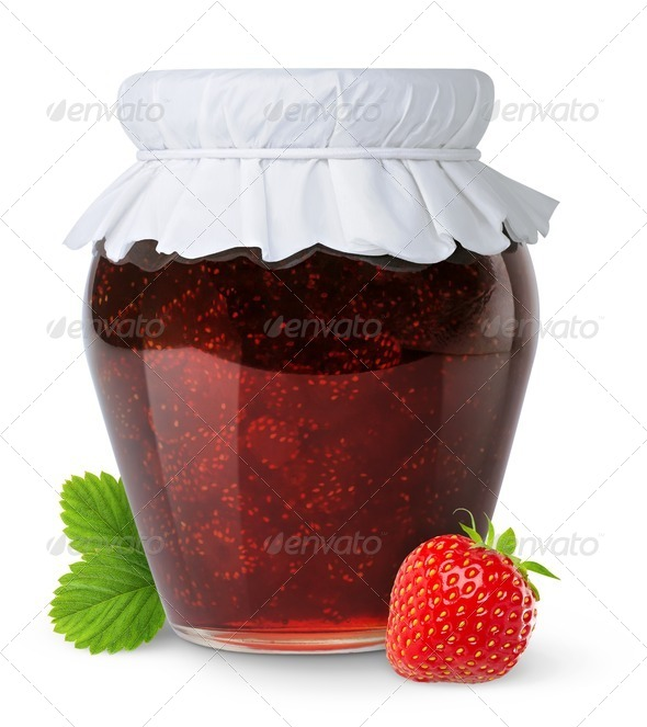 Stock Photo - PhotoDune Strawberry jam 482996