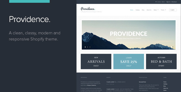 8 Shopify Theme Bestsellers on ThemeForest