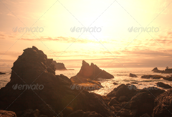 Olympik coast - Stock Photo - Images