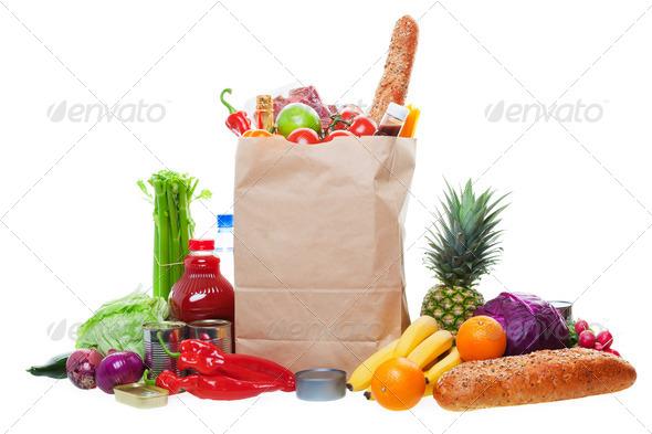 PhotoDune Lots of Groceries 483101