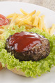 fresh grilled meatball with ketchup - PhotoDune Item for Sale
