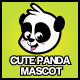 Cute Panda Mascot - GraphicRiver Item for Sale