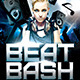 Beat Bash Flyer Template - GraphicRiver Item for Sale