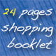 24 Pages Shopping Booklet  - GraphicRiver Item for Sale
